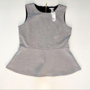 H&M Sleeveless Blouse Size Large